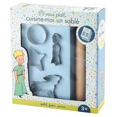Régalez-vous avec les sablés du Petit Prince !   Avec ce coffret à pâtisserie Les sablés du Petit Prince, votre enfant aura tout ce dont il a besoin pour devenir un apprenti pâtissier et vous faire de délicieux sablés pour Noël !