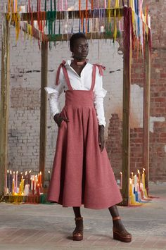 Rosie Assoulin Fall 2016 Ready-to-Wear Fashion Show http://www.theclosetfeminist.ca/ http://www.vogue.com/fashion-shows/fall-2016-ready-to-wear/rosie-assoulin/slideshow/collection#16