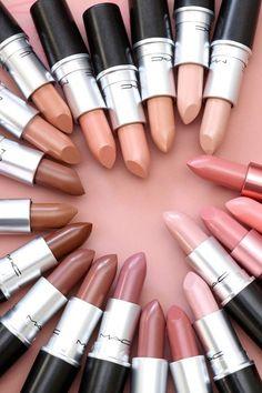 Mac Nicki Minaj Lippenstifte 2017 - Make Up Welt - Lipstick Lipstick For Fair Skin, Lipstick Shades, Lipstick Colors, Lip Colors, Purple Lipstick, Liquid Lipstick, Maroon Lipstick, Pink Lips, Lipgloss