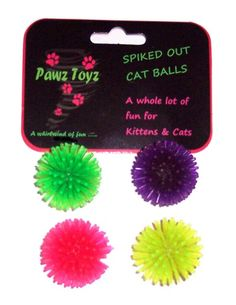 Spiked Out Cat Balls from Just a Touch of Everything