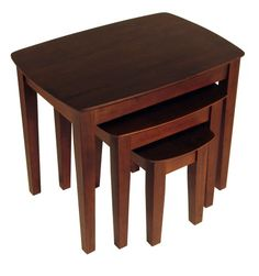 Winsome Wood Nesting Table Antique Walnut -- Read more reviews of the product by visiting the link on the image.Note:It is affiliate link to Amazon.