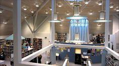 Modern Interior Design - Kallio Library, Helsinki Finland 2012