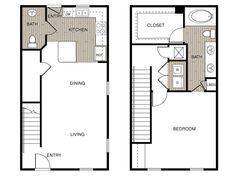 Tremendous 14X28 Tiny House 14X28H3A 391 Sq Ft Excellent Floor Plans Largest Home Design Picture Inspirations Pitcheantrous