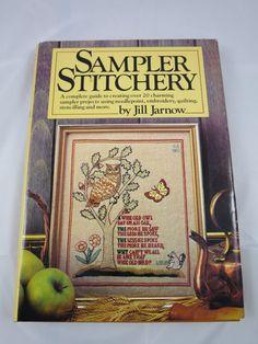 Vintage Sample Stitchery Book 20 Sampler by BonniesVintageAttic