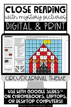 These engaging reading activities come in digital or print