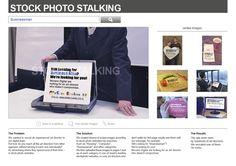 McCann Erickson: Stock Photo Stalking