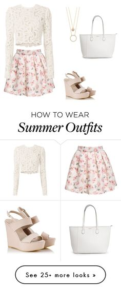 """""""Cute summer outfit"""" by linhdan-lh on Polyvore featuring Alberto Guardiani, A.L.C. and Kate Spade"""