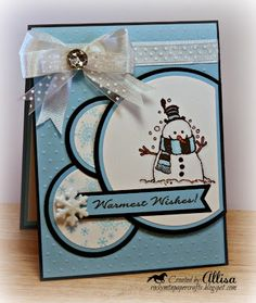 Rocky Mountain Paper Crafts: Flakey Friends...