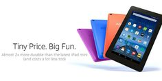 """Amazon Fire Tablet, 7"""" Display, Wi-Fi, Now Only $39.99! http://heresyoursavings.com/amazon-fire-tablet-7-display-wi-fi-now-39-99/"""