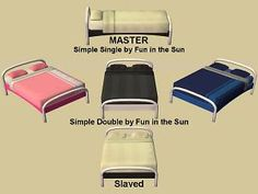 Mod The Sims - Simple Double by Fun in the Sun