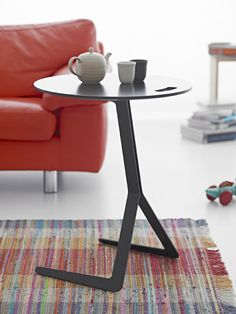 Warp Side Table by Oliver Schick for Ligne Roset    Simplicity at its BEST!!