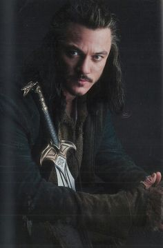 Bard the Bowman and the Sword of Girion - Luke Evans