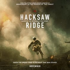 HACKSAW RIDGE is the extraordinary true story of Desmond Doss [Andrew Garfield], the only American soldier in WWII to fight on the front lines without a weapon.