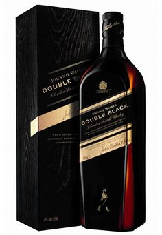Johnnie Walker Double Black  This new blend adds heavily peated malts and is aged in charred oak barrels for an even deeper, smokier flavor.