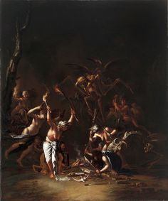 Salvator Rosa - The Witches' Sabbath (1635-54)