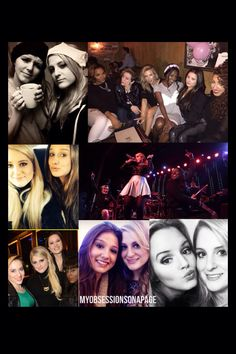 Meg with a few females that mean a lot to her such as Ashley, Emmy, Michy, Kelsey, Etc.... (An Edit made by me)