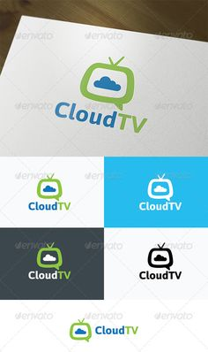 Cloud TV Logo #GraphicRiver Logo Template Features AI and EPS (Illustrator 10 EPS) 300PPI CMYK 100% Scalable Vector Files Easy to edit color / text Ready to print Font information at the help file If you buy and like this logo, please remember to rate it. Thanks! Created: 6May13 GraphicsFilesIncluded: VectorEPS #AIIllustrator Layered: No MinimumAdobeCSVersion: CS Resolution: Resizable Tags: cableTV #cartoon #channel #cloud #cloudcomputing #color #communication #computing #connect #dream…
