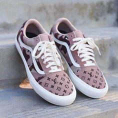 556dff7371 Desert Camo Louis Vuitton Vans (LV Vans