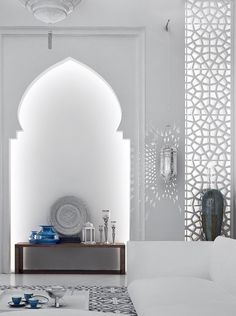 I HAVE to have some kind of Arabesque wall in my salon/living room when I build a home insha'Allah
