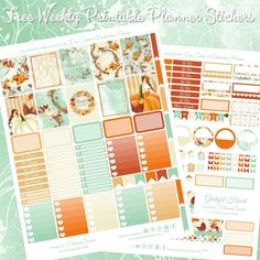 Free Thanksgiving Printable Spread For The Erin Condren & Recollections Planner - Planner Onelove Free Planner, Planner Pages, Happy Planner, Planner Ideas, 2017 Planner, Free Thanksgiving Printables, Free Printables, Planner Organization, Organizing