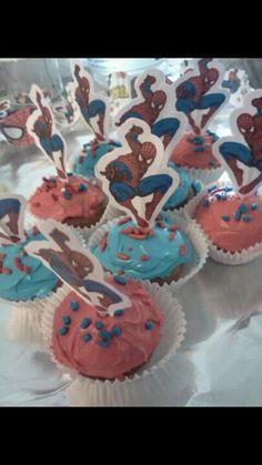 Spiderman cupcake cake walmart - photo#12