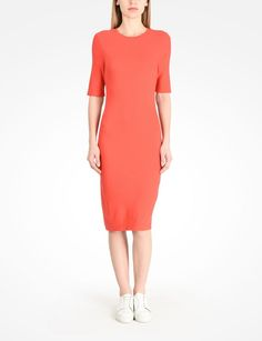 Shop for TEE SHEATH DRESS & discover our other Midi Dress for Women. Find more designer clothes & accessories at armaniexchange.com