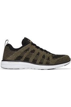 APL ATHLETIC PROPULSION LABS TechLoom Pro metallic mesh sneakers. #aplathleticpropulsionlabs #shoes #gym and cross train
