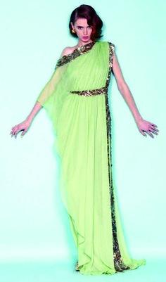 Vestido de noche asimétrico elegante