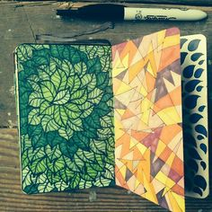 art journal/ drawing idea - because my friend Laura keeps pinning stuff like this and is inspiring me to want to do the same! ;-)