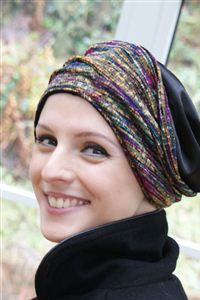 Christmas hat for hair loss, hats for cancer patients, chemo hats, turban