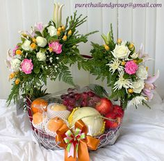 Fruit Basket Code-03 | PURE Flower Thailand