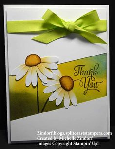 Daisy Day – Stampin' Up! Card