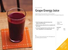Grape #EnergyJuice with Whole Slow #Juicer #CS600