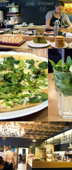 Restaurant Cafe Cukrkavalimonada in Prague, Czech Republic   Strudel & Cream