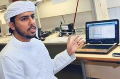 Virtual Mouse - Sultan Ahmad Sultan Al Sharif, an engineering student in Dubai, invented a mouse that is controlled through the movement of the eyes.