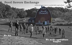 Seed Savers Exchange - Women are a huge part of our organization AND the sustainable food movement worldwide. Sustainable Farming, Organic Farming, Organic Gardening, Sustainability, Organic Seeds, Homestead Survival, Farm Gardens, Come And See, Aquaponics