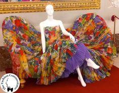 30 anni Galleria del Costume - abito Gianfranco #Ferré per Christian #Dior, metà anni 90, dono Cecilia Matteucci Lavarini