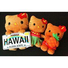 i love hawaii pineapple plush - Google Search
