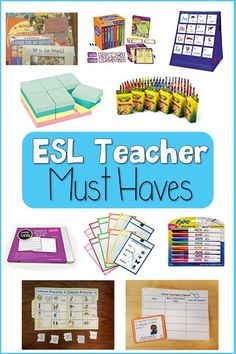 ESOL Teacher Must Haves - A World of Language Learners