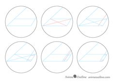 One Point Perspective Room Drawing Tutorial - AnimeOutline One Point Perspective Room, Line Drawing, Art Drawings, Curves, Simple, Tips, Advice, Art Paintings, Baskets