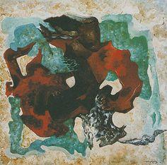 Abstrato 1970 | John Graz óleo sobre compensado, c.i.d.
