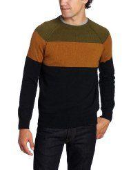 French Connection Men's Rego Yoke Angora Sweater