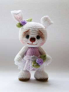 Handmade Knitted toys from Yaninoy Olgi