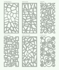 Laser Cut Design Ideas!