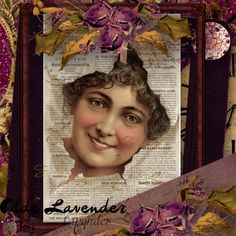 Olde Lavender [YT-175] - $2.49 : e-scapeandscrap.net