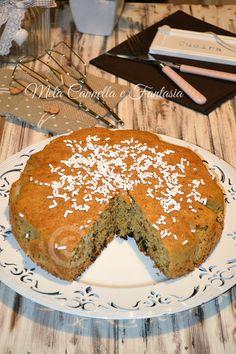 Torta amaretti morbidi, senza latte e senza burro