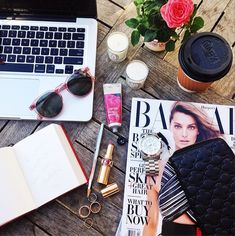 so guilty. The Aggressively Staged Desk Shot // Fashion Girl Instagram Cliches - Are You Guilty?