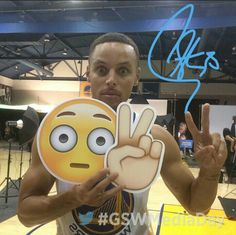 Stephen Curry #GSWMediaDay