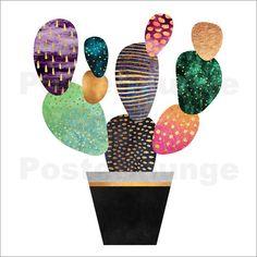 Poster Pretty Cactus