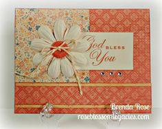 Rose Blossom Legacies: God Bless You